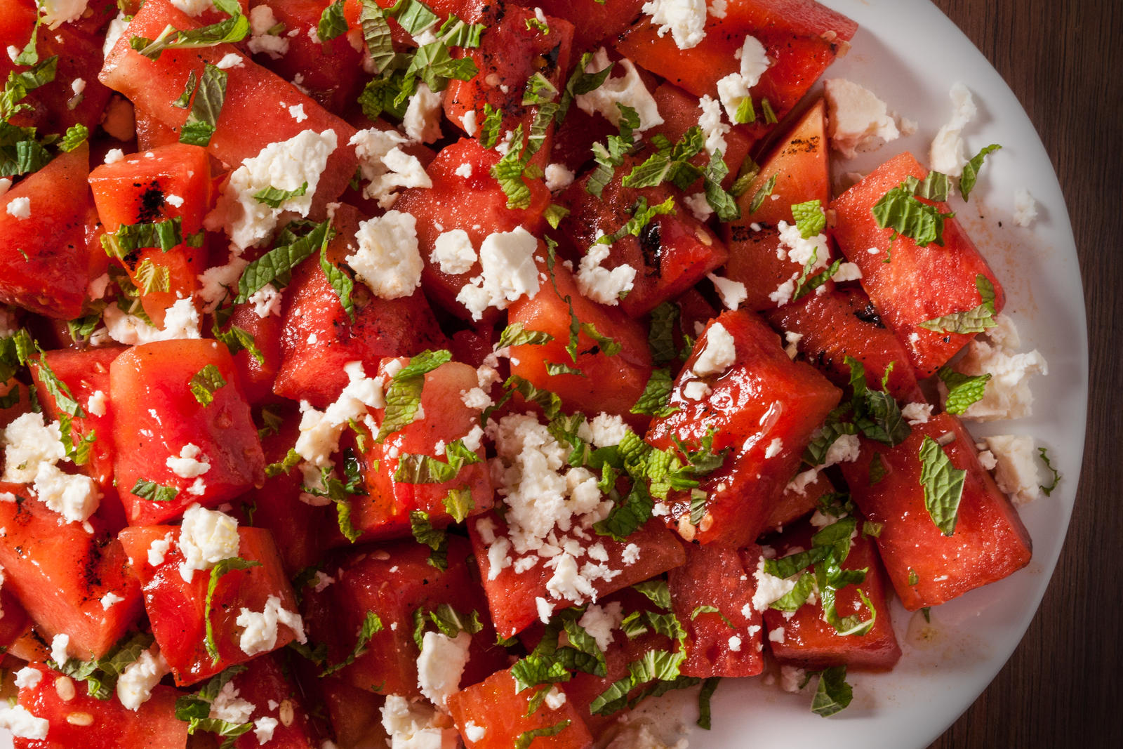 Watermelon Salad with Feta and Mint | Windmill Farms Produce