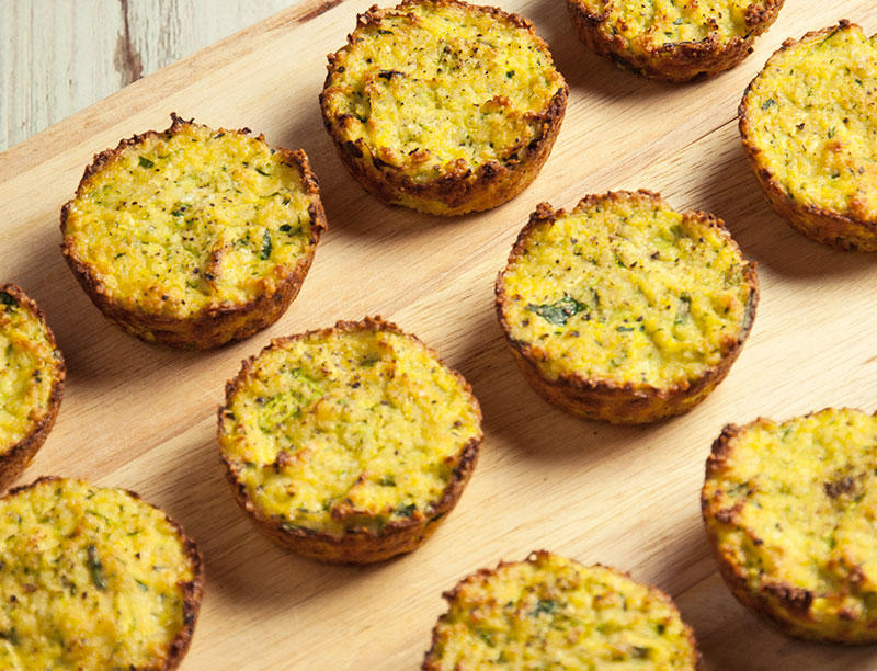 Oven Baked Zucchini Fritters Recipe
